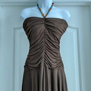 Adorable halter top dress, size L
